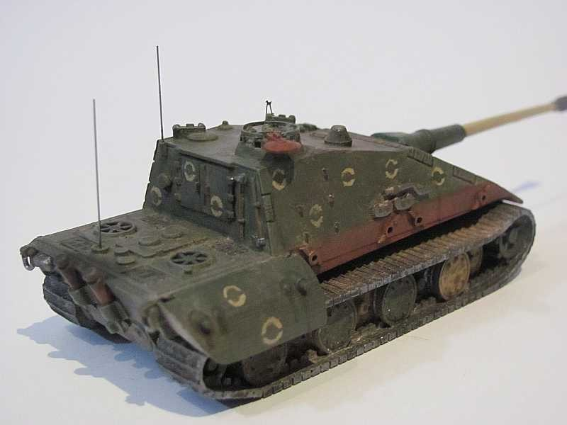 Panzerhalle 1/87 Bruchhausen-Vilsen - 1. E-100 Jagdpanzer ...